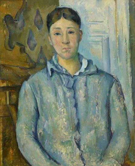 Cezanne-Madame-Cezanne-in-Blue