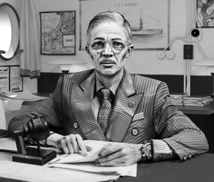 Mary Reid Kelley_Harry S. Truman_2017